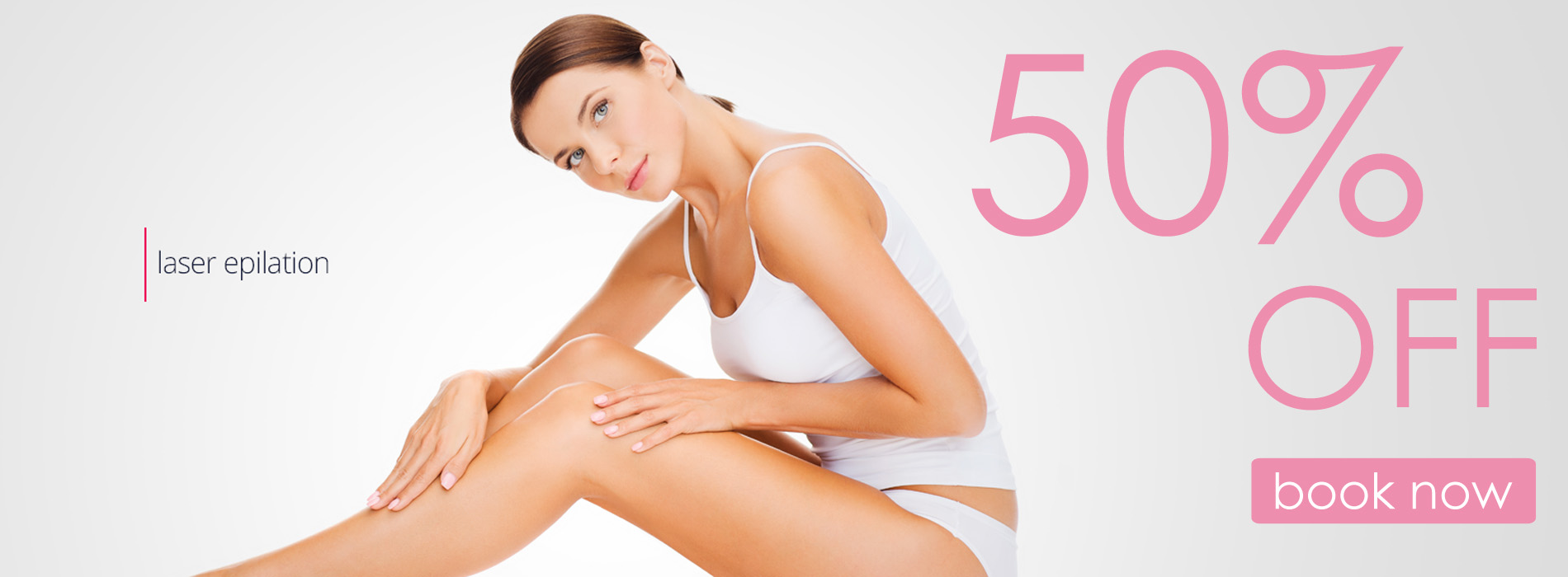 Laser hair removal 50 % off