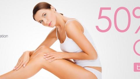 50 % намаление на лазерна епилация в Pearl Skin