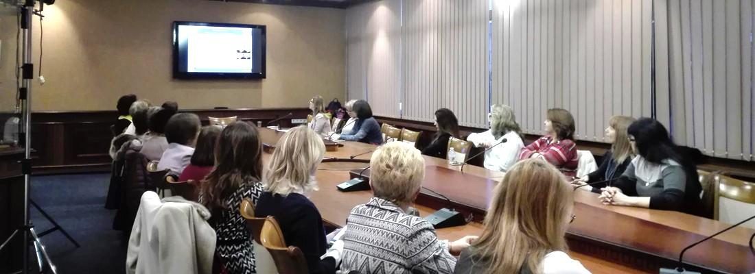 Presentation by Dr. Nikolova in front of Soroptimist International Europe
