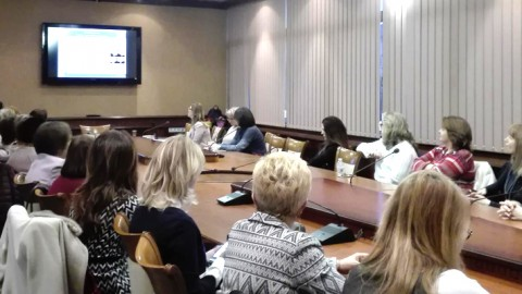 Presentation by Dr. Nikolova in front of Soroptimist International Europe