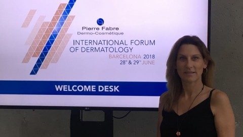 Dr. Romeliya Nikolova took part in the International dermatology forum in Barcelona